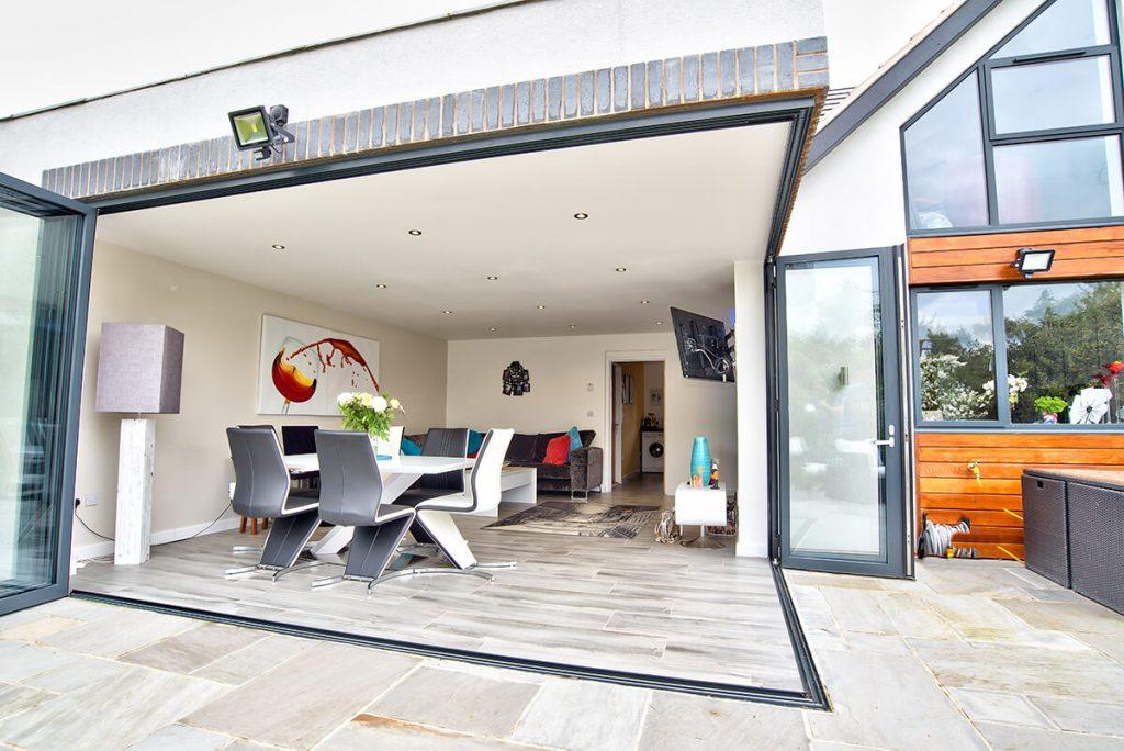 Aluminium Bifold Door Costs Basildon Essex