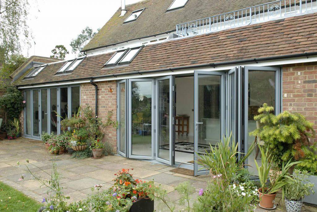 Aluminium Bi-Fold Doors Fitters Essex