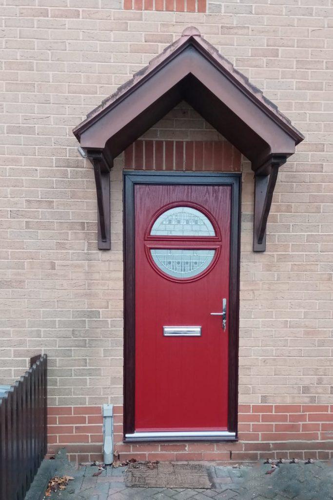 Red Composite Door Basildon